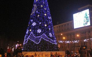 Новый год 2015 в Донецке