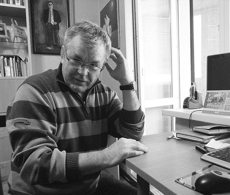Карикатурист Иван Анчуков стал членом «Гильдии аналитических журналистов»