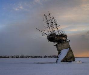 С воронежского водохранилища исчезнет макет корабля «Меркурий»