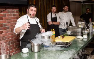 Проект «Душевная кухня»: мастер-класс шеф-повара Айка Вейшторта