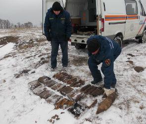 50 противотанковых мин в боевом состоянии нашли под Острогожском