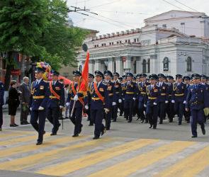 Из-за репетиции парада Победы в Воронеже перекроют центральные улицы