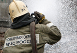 В районе завода «Воронежсинтезкаучук» произошел пожар (ВИДЕО)