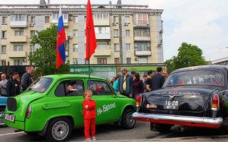 Ретро-автомобили Луганска