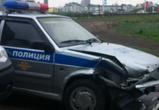 В Воронеже на Чернавском мосту столкнулись автомобиль ДПС и Hyundai (ФОТО)