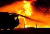 В Воронеже и области за ночь сгорели микроавтобус и иномарка