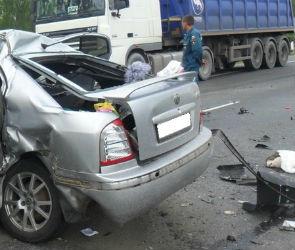 В тройном ДТП под Воронежем погибли два человека, пострадал ребенок (ФОТО)