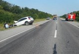 На трассе М-4 «Дон» столкнулись две иномарки: пострадали два ребенка (ФОТО)