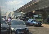 На Северном мосту столкнулись четыре автомобиля (ФОТО)