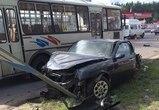 В Воронеже Alfa Romeo спровоцировал тройное ДТП: пострадал один человек (ФОТО)