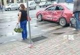 Тройное ДТП на Ленинском проспекте: пострадал один человек (ФОТО)