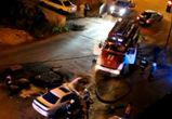 В Сети появилось видео загоревшейся напротив «Максимира» «Тойоты»