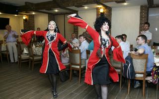 Фотоотчет с грузинского застолья в ресторане «Тифлис»