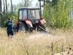 В Воронеже горят пустыри и лес  130465