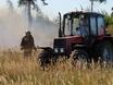 В Воронеже горят пустыри и лес  130470