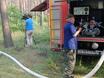 В Воронеже горят пустыри и лес  130471