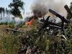 В Воронеже горят пустыри и лес  130475