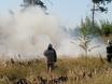 В Воронеже горят пустыри и лес  130477