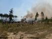 В Воронеже горят пустыри и лес  130483