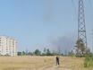 В Воронеже горят пустыри и лес  130493
