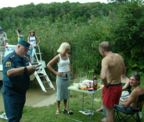 «Да я сам майор МЧС», или кого штрафуют на воронежском водохранилище (ФОТО)