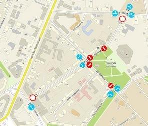 5 и 6 сентября перекроют движение по участкам улиц Театральная и 25 Октября
