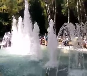 В парке «Динамо» открылся фонтан (ВИДЕО)