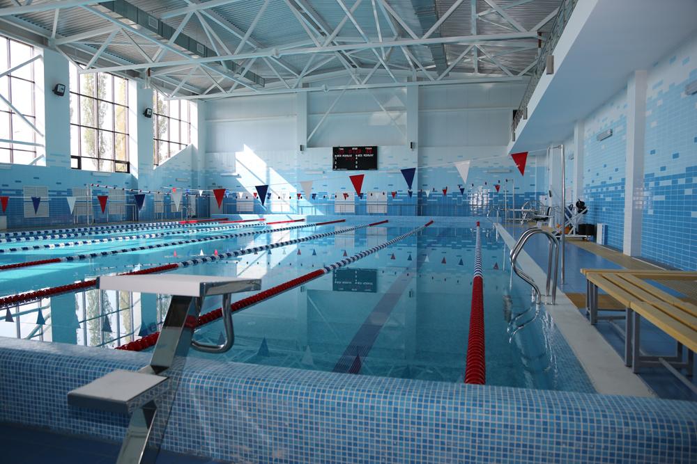 В Придонском открылся новый спортивный комплекс с бассейном