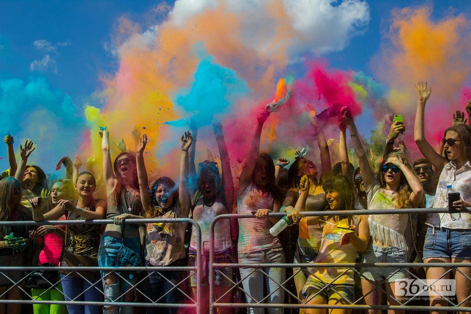 27 сентября в Воронеже пройдёт всероссийский фестиваль красок «Новые эмоции»