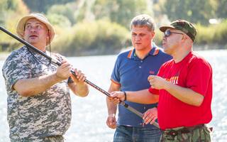 Мужской клуб «Сильный&Cтильный» на рыбалке