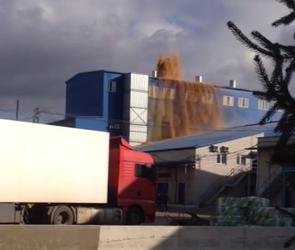 На воронежском дрожжевом заводе произошло извержение дрожжей (ВИДЕО)