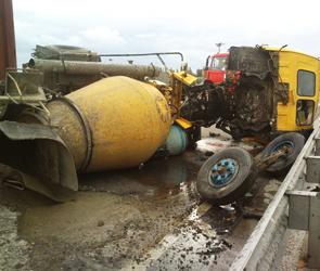 Стали известны причины  ДТП с бетономешалкой в Воронеже