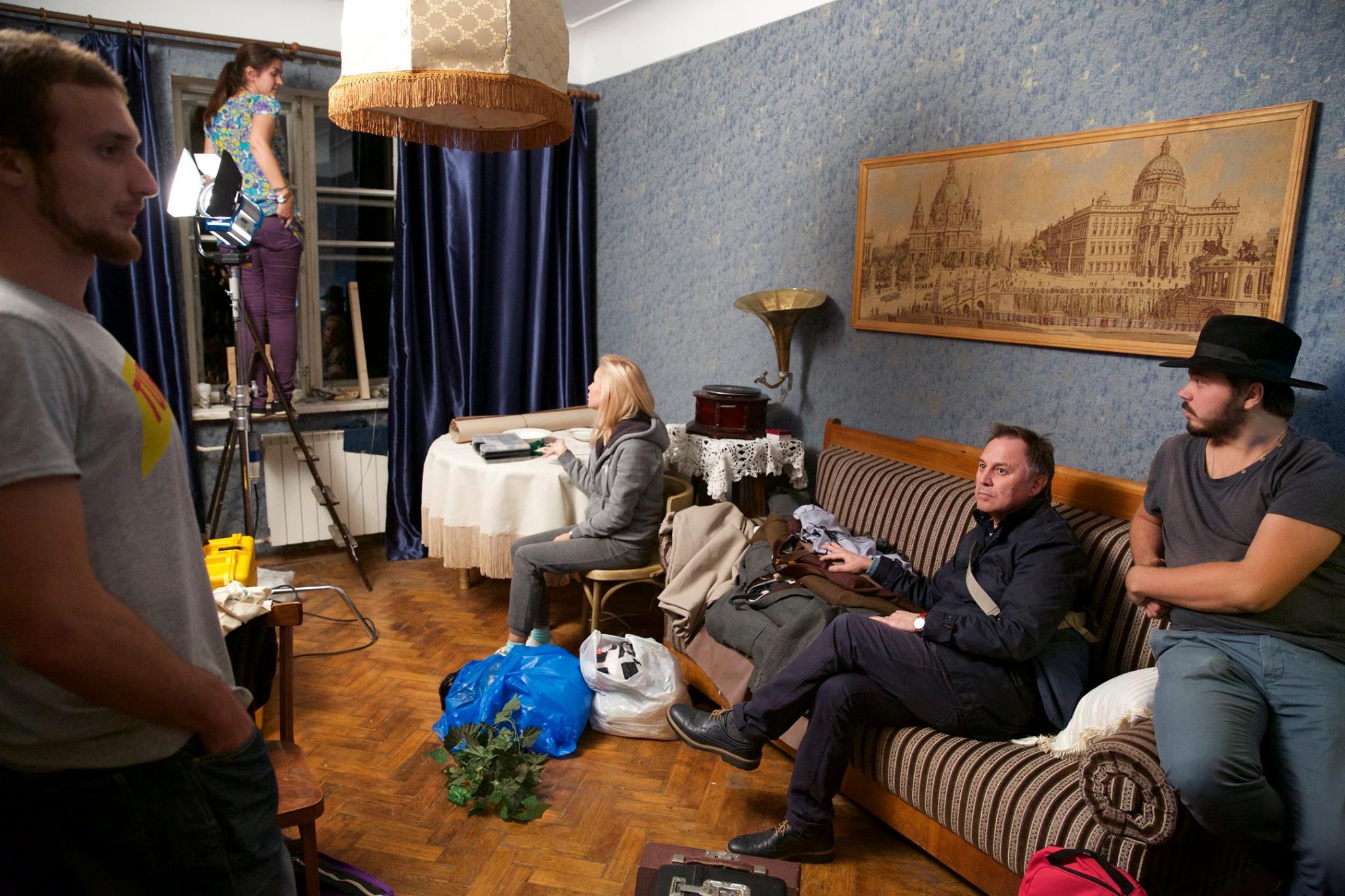 Квартира воронежского экскурсовода стала съемочной площадкой фильма о Маршаке