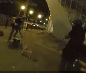 Недовольные отсутствием скейт-парка воронежцы устроили на улице дебош (ВИДЕО)