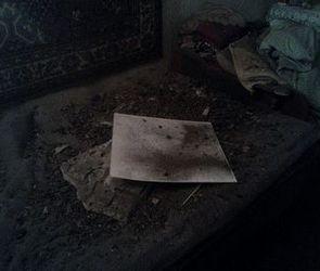 В Воронеже на улице Матросова рухнувший потолок едва не убил женщину (ФОТО)