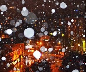 Октябрьский снег застал воронежцев врасплох (ФОТО-ВИДЕО)
