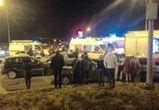 В Воронеже полиция устанавливает обстоятельства тройного ДТП на улице Лизюкова