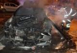 Ночью Воронеже снова горели автомобили