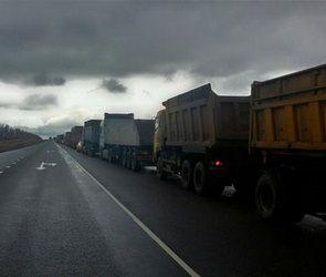Воронежские дальнобойщики присоединились к всероссийской акции протеста