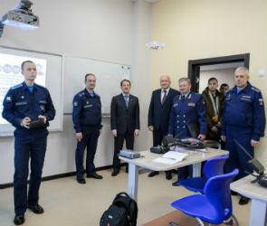 Губернатор оценил работу кадетского корпуса при Военно-воздушной академии (ФОТО)