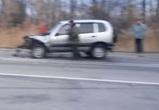 В Воронежской области Niva протаранила автобус с паломниками (ВИДЕО)