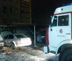 В Воронеже подожгли машину лидера «Дорожного контроля» Вадима Серова (ВИДЕО)