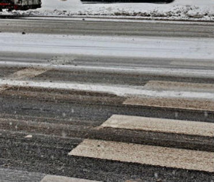 В Воронеже УАЗ «Патриот» на большой скорости сбил пешехода