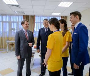 Губернатор встретился с молодыми активистами Воронежской области