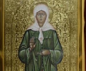 Икону и мощи святой Матроны Московской привезли в Липецкую область