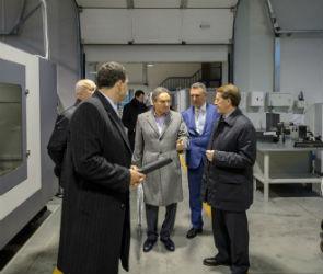 Губернатор оценил работу нового производственного участка ЗАО «Орбита»