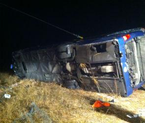 4 человека погибло, 14 ранены в ДТП с автобусом в Воронежской области (ВИДЕО)