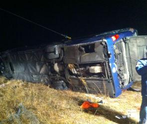 В полиции назвали предварительную причину ДТП с автобусом на трассе М-4 «Дон»