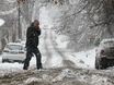 Воронеж заметает снегом  136756