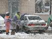Воронеж заметает снегом  136760